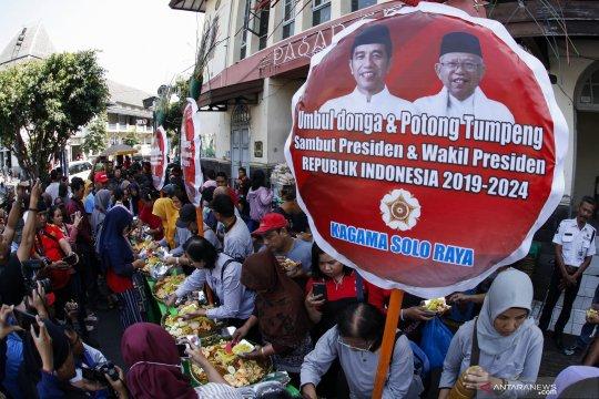 Syukuran jelang pelantikan Presiden Joko Widodo dan Wapres KH Ma'ruf Amin
