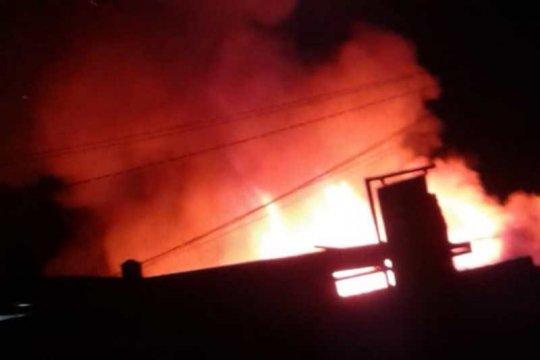 Pasar Blabak Magelang terbakar