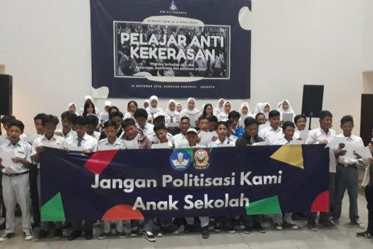 Siswa SMK dan SMA deklarasi pelajar antikekerasan