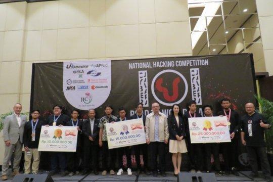 Tim Zen UI raih juara pertama Cyber Jawara 2019