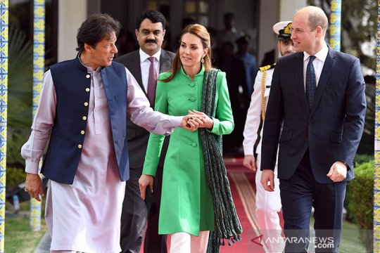 Pangeran William & Kate lihat dampak perubahan iklim di Pakistan