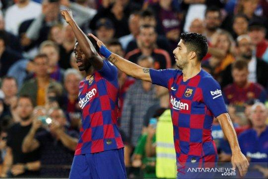 Jadwal Liga Spanyol: Barcelona bisa rebut puncak dari Real Madrid