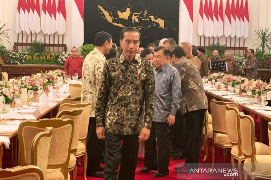 Presiden Jokowi nilai JK teman bertukar pikiran yang baik