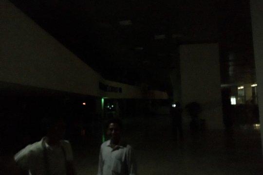 Jelang pelantikan, pemadaman listrik terjadi di gedung Parlemen RI