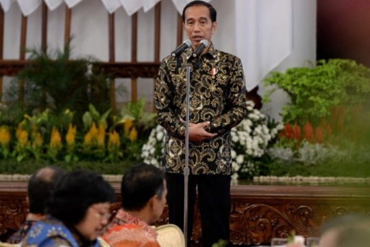 Jokowi-KH Ma'ruf Amin agar siapkan sistem bendung kaum intoleran