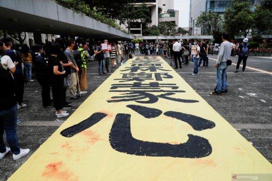 Hong Kong perketat keamanan menjelang protes yang direncanakan