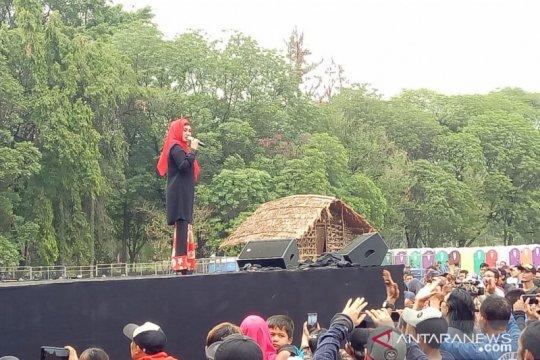 """Ikke Nurjanah sempat khawatir tampil di konser """"Musik Untuk Republik"""""""