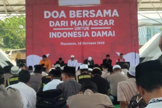 Makassar doa zikir bersama sambut pelantikan presiden
