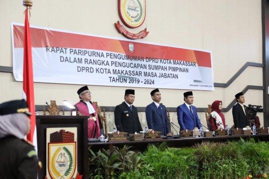 Penjabat Wali Kota hadiri penetapan pimpinan DPRD Makassar
