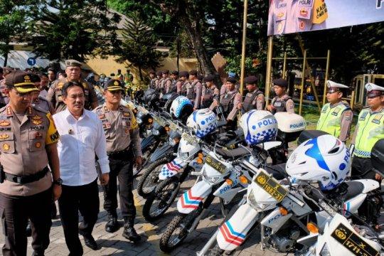 450 personel gabungan Sidoarjo siap jaga pelantikan Presiden