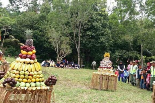 Dusun Tunggularum gelar merti bumi mohon perlindungan bencana Merapi