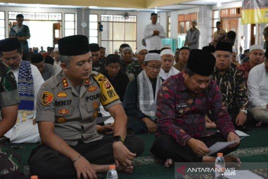 Warga Garut doa bersama jelang pelantikan Presiden Indonesia