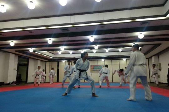 Persiapan cabor karate capai 90 persen
