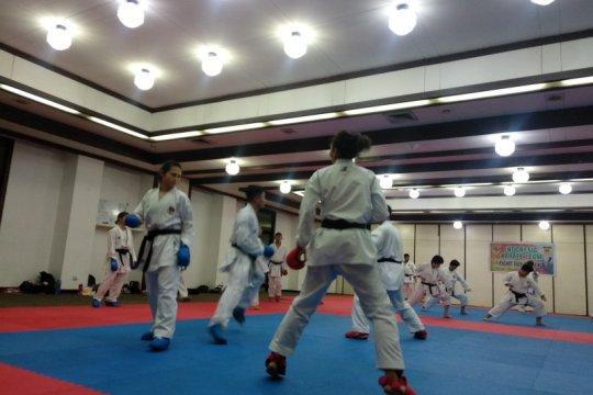 Karate upayakan bisa gelar pemusatan latihan terakhir di Jepang