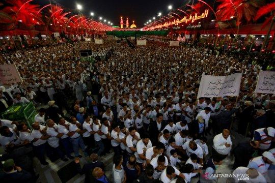 Sejumlah peziarah Syiah Irak positif corona setibanya dari Suriah