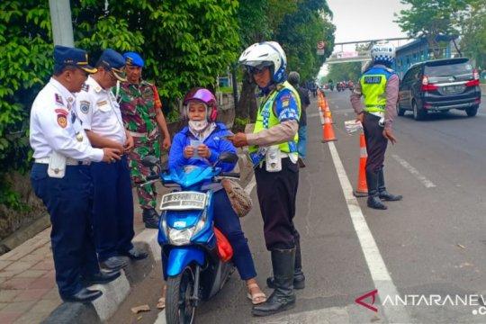 Petugas gabungan intensifkan sterilisasi jalur sepeda