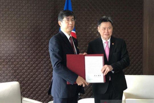 Dubes Jepang untuk ASEAN serahkan surat kepercayaan kepada Sekjen