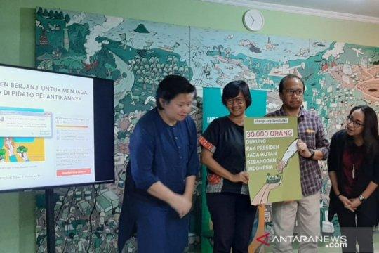 Golongan Hutan: pemerintah baru buatlah kebijakan memihak lingkungan