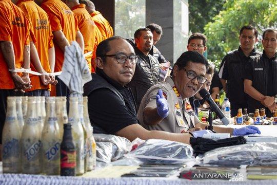 Pelantikan presiden, polisi tangkap 22 orang rencanakan kerusuhan