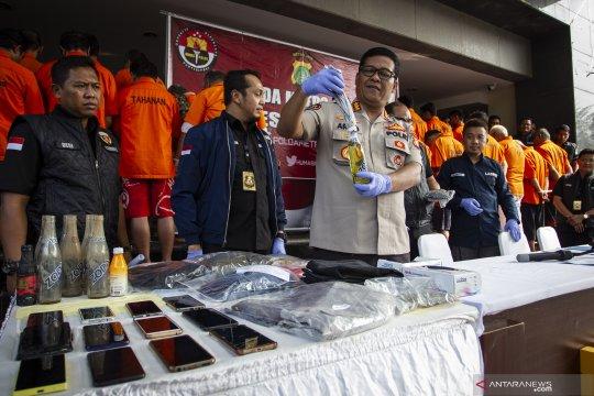Ungkap kasus bom molotov