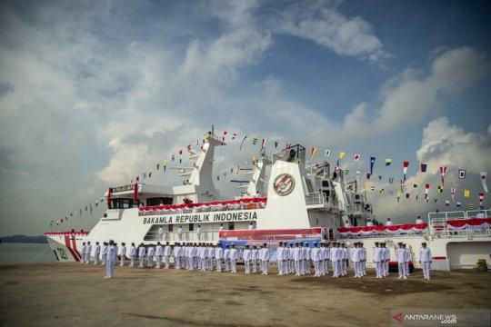 Bakamla resmikan tiga kapal baru