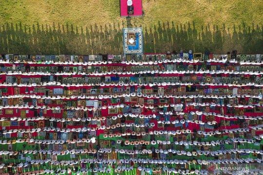 Shalat istisqa di Lombok