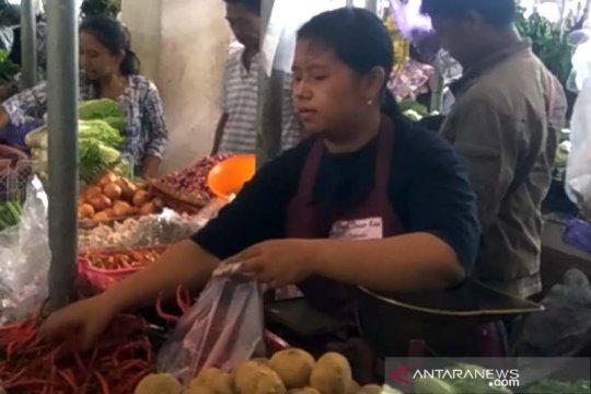 Harga cabai di pasar tradisional Purwokerto kembali turun