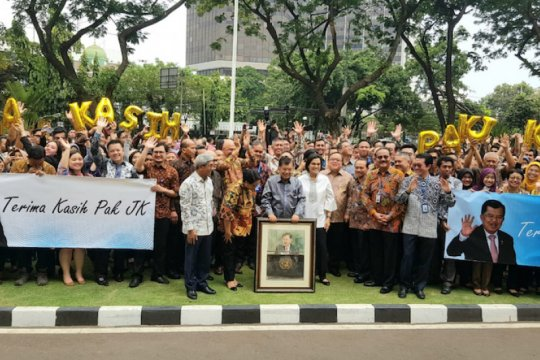 """Pidato terakhir Jusuf Kalla di Gedung Pancasila, """"Terima Kasih Pak JK"""""""