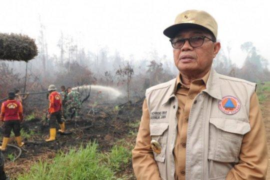 Gubernur Jambi perpanjang darurat karhutla hingga Hari Pahlawan