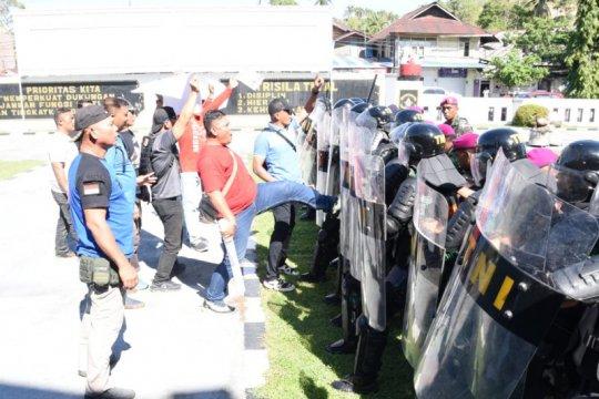 Lantamal gelar pasukan pengamanan jelang pelantikan Presiden-Wapres