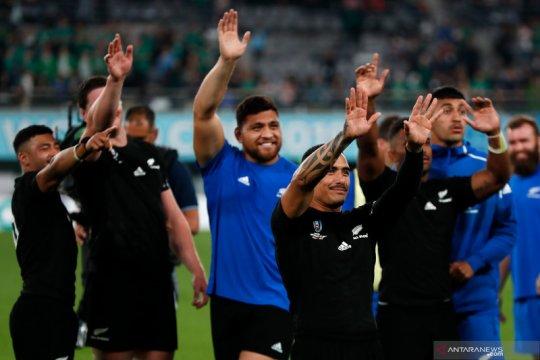 Selandia Baru akan hadapi Inggris pada semifinal Piala Dunia Rugby