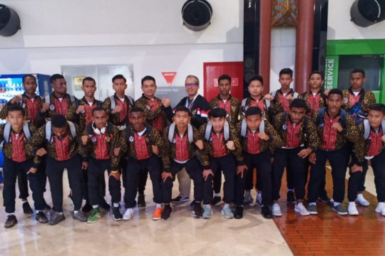 Timnas Pelajar U-15 wakili Indonesia di IFC 2019