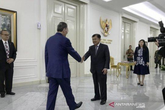 Wapres JK terima kunjungan kehormatan Wapres China
