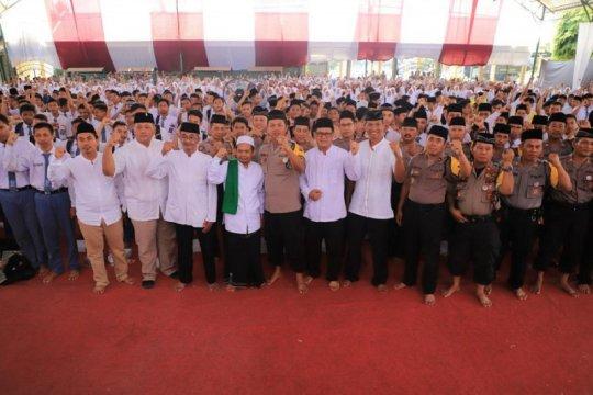 Polres Kediri ajak pelajar doa bersama jelang pelantikan Presiden