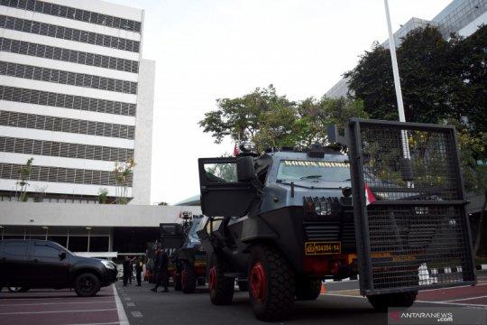 Penjagaan Kompleks DPR diperketat jelang pelantikan presiden