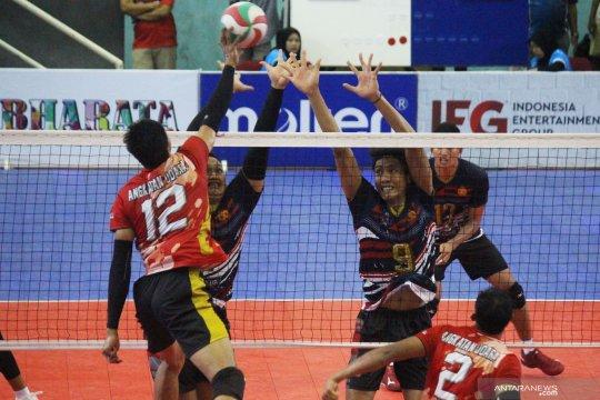 Bhayangkara Samator melaju ke babak final liga voli
