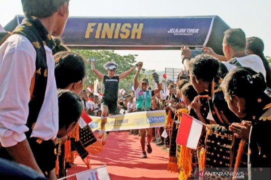 Lari Jelajah Timur untuk amal