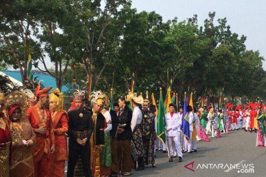 Riau gelar karnaval budaya sambut Hari Sumpah Pemuda