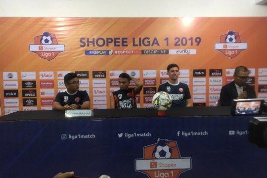 Pelatih PSM minta pemain hormati Persija Jakarta