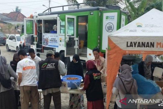 Humanity foodtruck ACT sambangi korban kebakaran hebat di Palembang