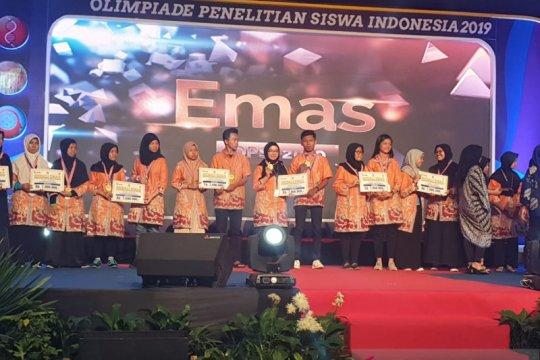 Pelajar NTB juara 1 Olimpiade Penelitian Siswa Indonesia