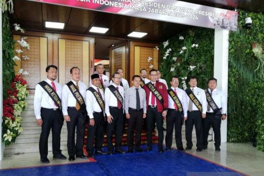 Pelantikan Presiden, Gedung MPR dipercantik tanpa tema khusus