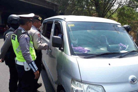 Jelang pelantikan Presiden, Polres Cirebon gelar razia gabungan