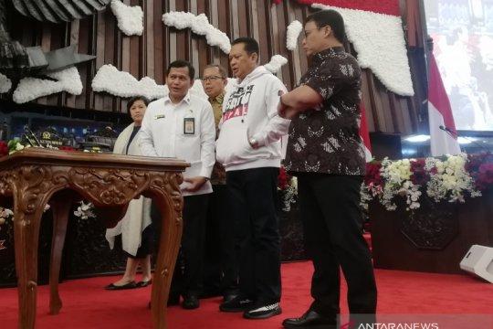 Bambang Soesatyo kasih pesan pertumbuhan ekonomi 100 hari pertama