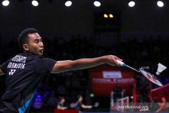 Semifinal Denmark Open 2019, Tommy tantang unggulan pertama