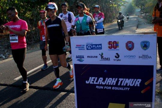 28 pelari bantu galang dana untuk bangun fasilitas air bersih Nagekeo