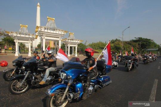 Parade Merah Putih Indonesia Damai