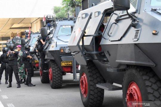 TNI/Polri gelar simulasi pengamanan jelang pelantikan presiden