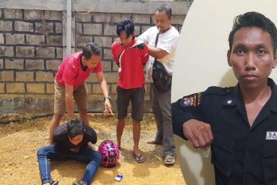 Polisi Bartim  tangkap dua pengedar narkoba dan oknum sekuriti BNI