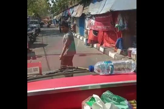 Viral pelaku pemalakan supir truk diciduk PolsekTambora